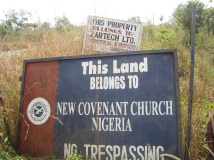 50 hectares of communal farmland sold to a Church by community leaders near Eruwa in Oyo State (1)