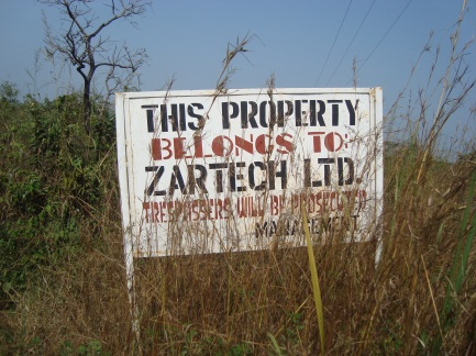 75 hectares of farmland near Ibadan acquired by Zartech - an agricultural company